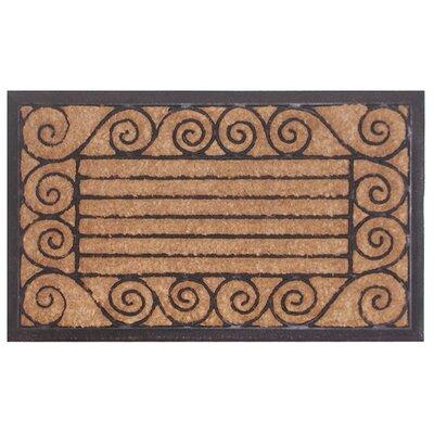 Molded Ameeba Doormat Size: 18 x 30