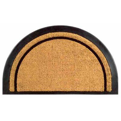 York Half Round Doormat