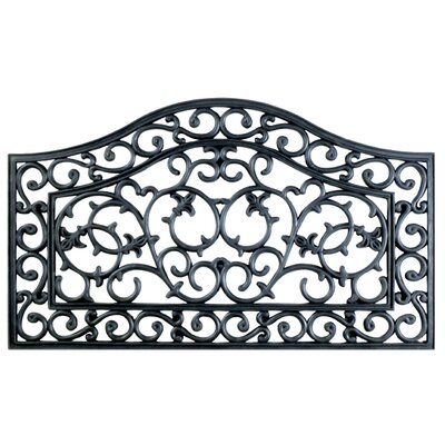 Molded Courtney Gate Doormat Size: 18 x 30