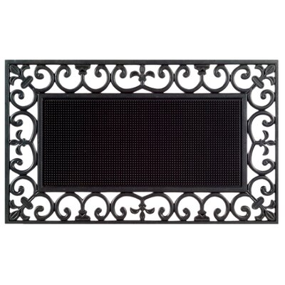 Molded Traypin Doormat Size: 18 x 30