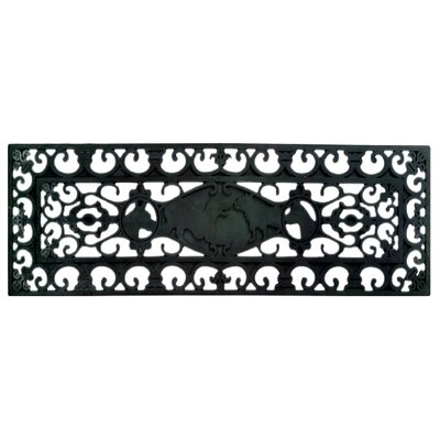 Molded Stair Dog Doormat Mat Size: Rectangle 9 x 30