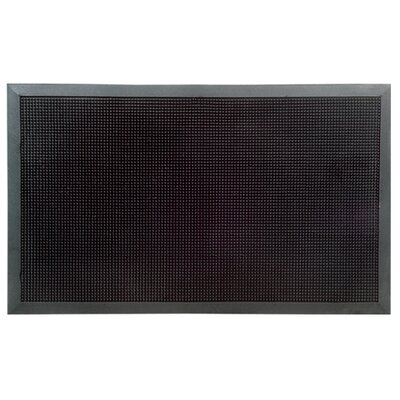 Molded Rubber Studs Doormat Size: Rectangle 32 x 48