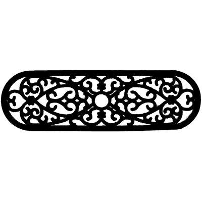 Molded Elliptical Curl Doormat Size: 10 x 30
