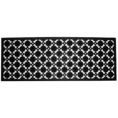 Molded Pin Doormat Size: 18 x 47
