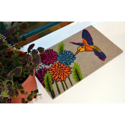 Rockleigh Blue Hummingbird Doormat