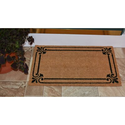 London Backed Coir Doormat