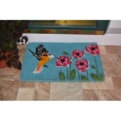 Rollins Hummingbird Coir Doormat