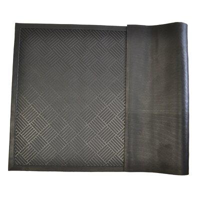 Rubber Scrapper Diamond Doormat