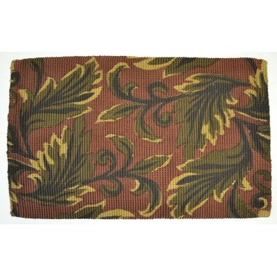 Leaves Rug Rug Size: 2 x 3