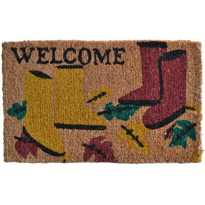 Creel Garden Boot Doormat Mat Size: Rectangle 30 x 18