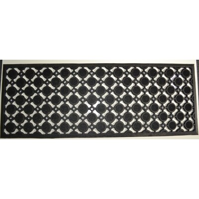 Molded Pin Doormat Mat Size: Rectangle 18 x 47