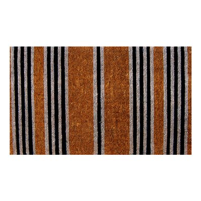 Woven Stripes Doormat Size: Rectangle 18 x 30