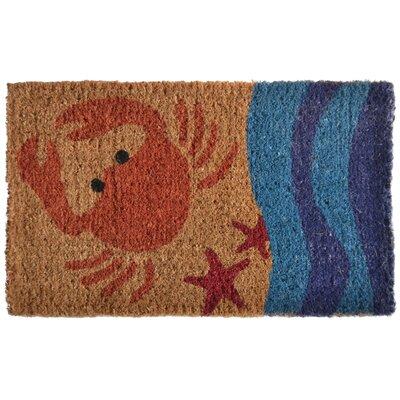 Creel Crab Doormat Rug Size: 30 x 18