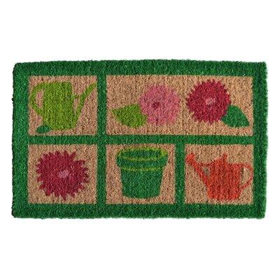 Creel Garden Tools Doormat Rug Size: Rectangle 30 x 18