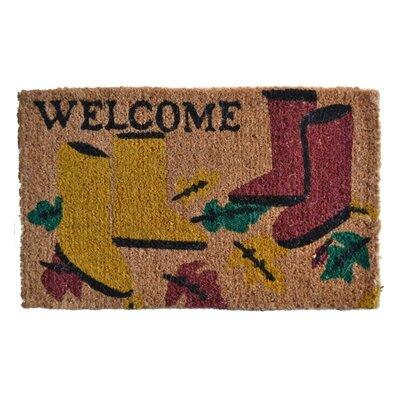 Creel Garden Boot Doormat Rug Size: 30 x 18