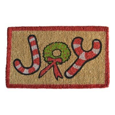 Creel Joy Doormat Rug Size: Rectangle 30 x 18