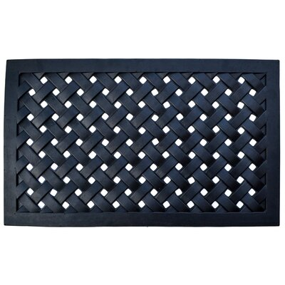 Molded Braided Utility Mat Size: Rectangle 18 x 30