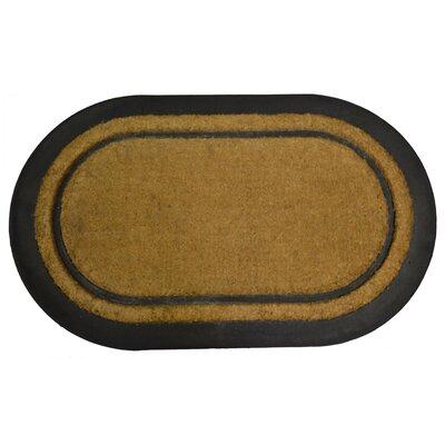 York Doormat Mat Size: Oval 110 x 3