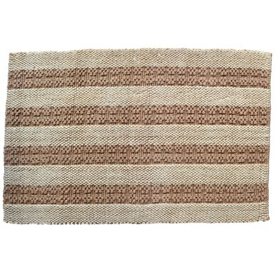Natural Stripes Rug Rug Size: Rectangle 2 x 3