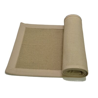 Natural Border Rug Rug Size: Rectangle 4 x 6
