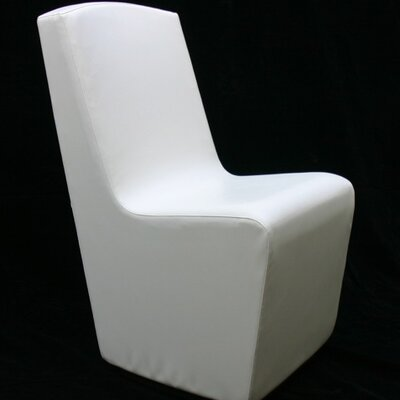 Scoop Club Dining Chair Upholstery: White