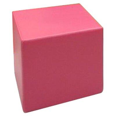 La-Fete Playful Bold Ottoman - Fabric: Candy Pink at Sears.com