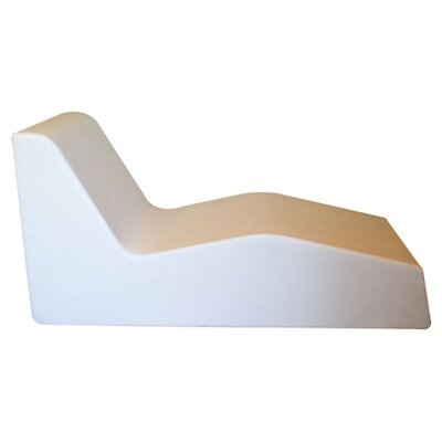 Eclipse Chaise Lounge Frame Color: White