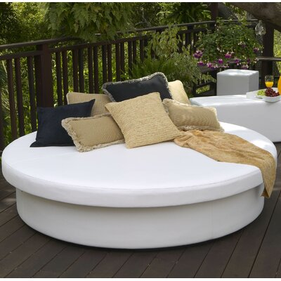Sun Pad Round Resort Bed Color: Silver Pixel