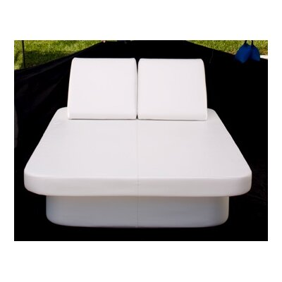 Lean Headboard Lumbar Pillow Color: Chill White