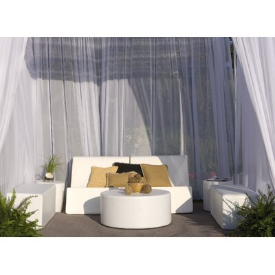 Chic 7 Piece Cabana Seating Group Fabric: Bronze Linen