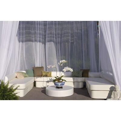 La-Fete Zen Cabana Bench Seating Group - Fabric: Bronze at Sears.com