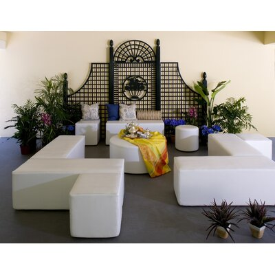 La-Fete Flow Bench Seating Group - Fabric: Silver Pixel at Sears.com