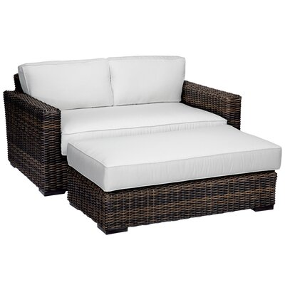 Montecito Double Chaise Lounge with Cushion