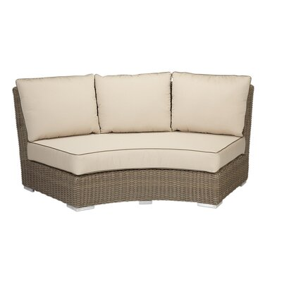 Coronado Curved Loveseat with Cushions