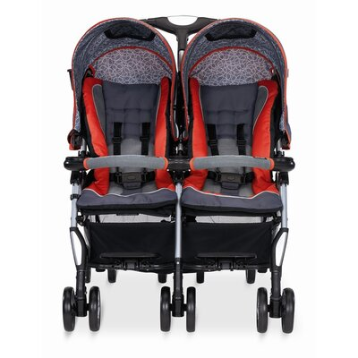 857513828fa The lightweight side-by-side Twin Sport stroller is compatible with one  SHUTTLE 33 infant car seat and fits easily through standard doorways.