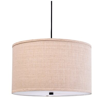 Chasse 3-Light Drum Pendant