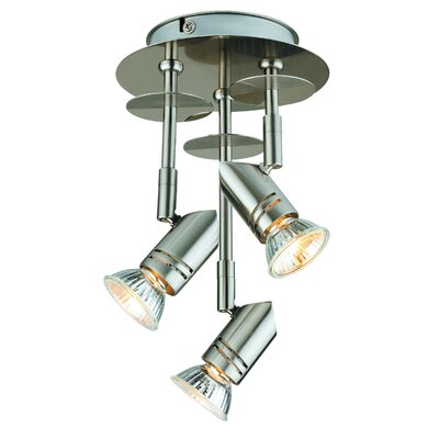 3-Light Fixed Canopy Spot Light