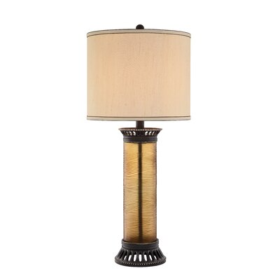 34 Table Lamp Bulb: Not Included