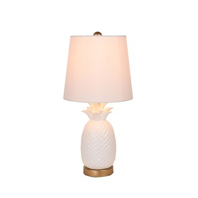 "Catalina Lighting Pineapple 18.5"" Table Lamp"
