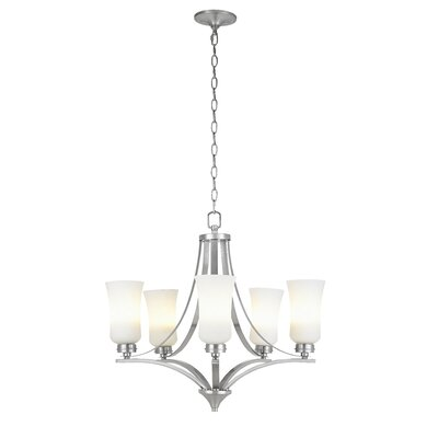 Axtell 5-Light Candle-Style Chandelier