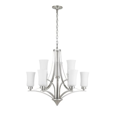 Axtell 9-Light Candle-Style Chandelier