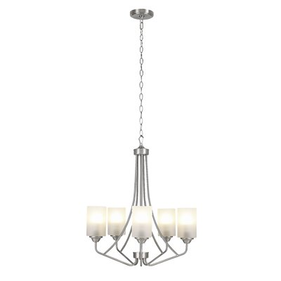 Eatman 5-Light Candle-Style Chandelier