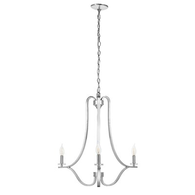 Ebeling 3-Light Candle-Style Chandelier