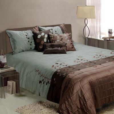 Jenny George Designs Linea 7 Piece Comforter Set - Size: Queen
