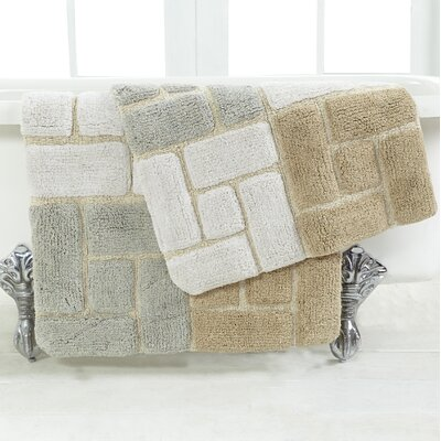 Berkeley 2 Piece Bath Rug Set Color: Spa