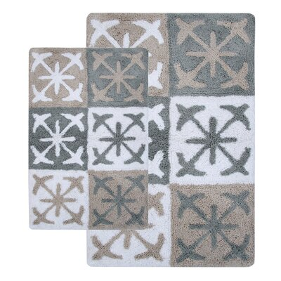 Columbia 2 Piece Bath Rug Set Color: Windswept