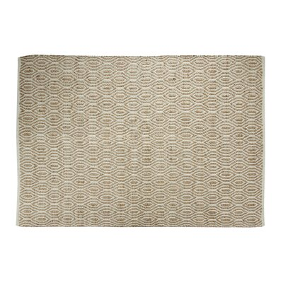 SunnyVale Hand-Woven Natural Area Rug Rug Size: Rectangle 5 x 7