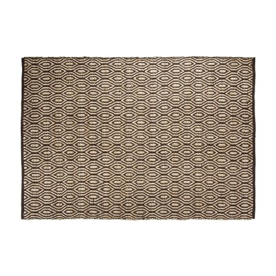 SunnyVale Hand-Woven Chocolate Area Rug Rug Size: Rectangle 2 x 3