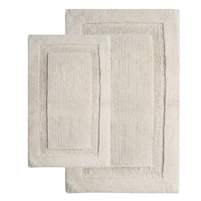 Olympia Contemporary Bath Rug Color: Ivory