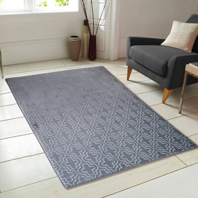 Memory Foam Gray Area Rug